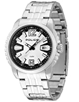 Police Analog White Dial Men's Watch - PL13896JS/04M