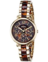 Fossil End-of-season Jacqueline Analog Brown Dial Women's Watch - ES3925