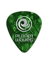 Planet Waves, 6 Guitar Pick, Celluloid Standard, G Pearl/medium 1CGP4, .70mm