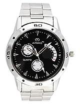 Adamo Black Dial Men's Wrist Watch AD107