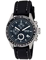 Fossil Decker CH2573 Men's Watch-Black