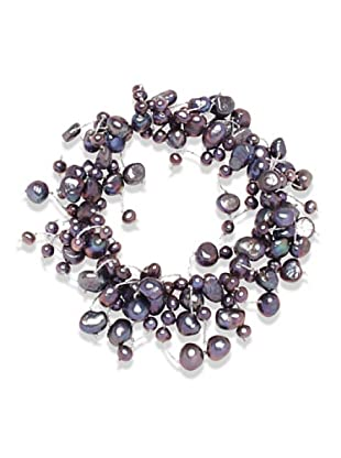 Valero Pearls 120324 - Pulsera de mujer de plata con perla cultivada de agua dulce
