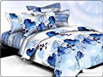 Beautiful King Size Double Bed Sheet Set 100% Cotton