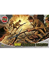 Airfix A01729 1:72 Scale WWI Us Infantry Figures Classic Kit Series 1