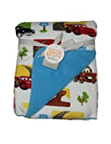 IMPORTED CARTER'S Blanket / Layette - CARS MOVIE PRINT 76cm X 102cm