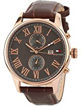 Tommy Hilfiger Analog Watch - For Men - Brown - TH1710292/D
