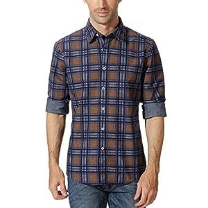 Allen Solly Checkered Cotton Shirt