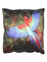 Twisha Parrot Pillow 12 X 12 X 4 Inch