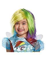 Disguise 83349 Rainbow Dash Wig Costume Child