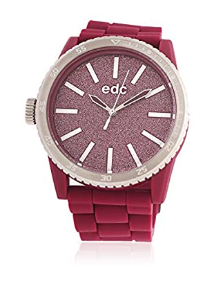 EDC Esprit Quarzuhr Glitter Star Ee100922018 rot 42  mm