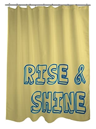 One Bella Casa Rise & Shine Shower Curtain
