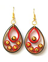 Kaagitham Tear Drop Earrings