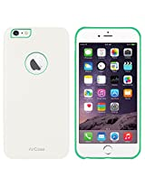 AirPlus AirCase 1mm Slim Case Leather Feel with Apple Cut Out for iPhone 6[WHITE]
