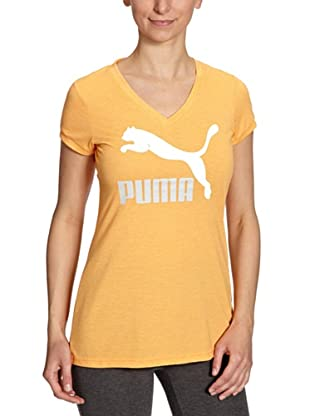 PUMA T-Shirt Logo (blazing orange)