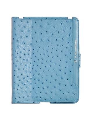 Piquadro Custodia iPad (Azzurro)