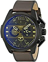 Diesel Analogue Black Dial Men's Watch - DZ4364