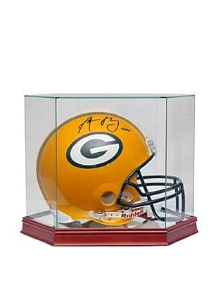 Steiner Sports Memorabilia Glass Helmet/Boxing Glove Case