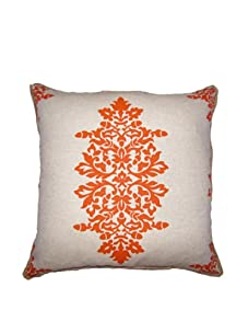 """Lacefield Designs Acorn Filigree 20"""" x 20"""" Pillow, Ginger"""