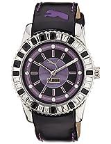 Puma Analog Black Dial Women's Watch - PU102012001