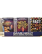 Game Night With Howie Mandel Exclusive Dvd Game Bundle Pack Deal Or No Deal, Would You Rather, Fact Or Crap
