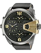 Diesel Chi Analog Black Dial Men's Watch - DZ7377