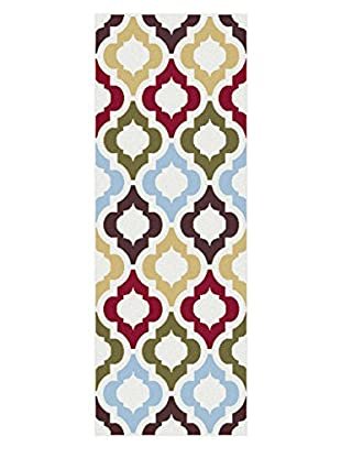 Universal Rugs Metro Contemporary Runner, Multi, 3' x 8'