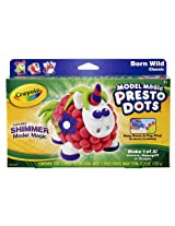 Crayola Model Magic Presto Dots makes Unicorn, Hippogriff or Dragon
