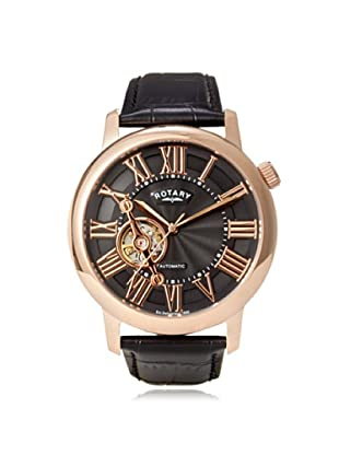 Rotary Men's GLE000020-10 Black Leather Watch