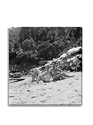 Photos.Com By Getty Images Portofino Holidaymakers On Paraggi Beach By Thurston Hopkins/Picture Post On Canvas