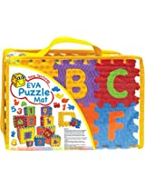 Sunta 3-inch-10 Pieces Number (0-9)+ 26 Pieces Alphabet, Multi Color