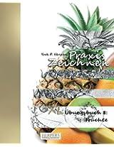 Praxis Zeichnen - XL Übungsbuch 8: Früchte: Volume 8