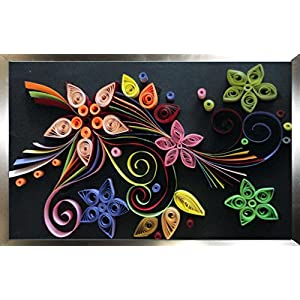 Cherish-a-Design Floral Quilled Design