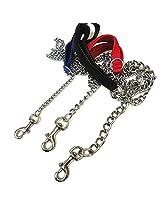 MeraPuppy Chain leash with handle (Medium)