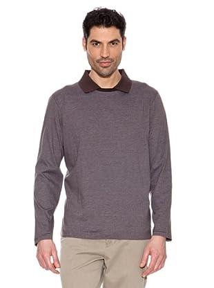 Pedro del Hierro Camiseta Cuello Polo (Marrón)
