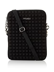 Rebecca Minkoff  Women's iPad Case with Strap, Black