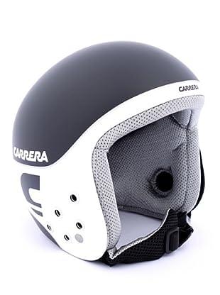 Carrera Casco de Esquí CA E00280 BULLET BLACK MATTE WH SH LOGO (negro/blanco)