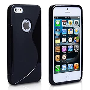 2010Kharido S Line Tpu Gel Silicone Rubber Soft Case Cover Skin For Iphone 4 4S 4G Black