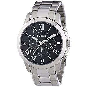 Fossil Chronograph Black Dial Men's Watch - FS4736