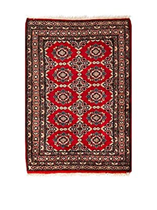 RugSense Alfombra Kashmir Rojo/Azul 111 x 82 cm