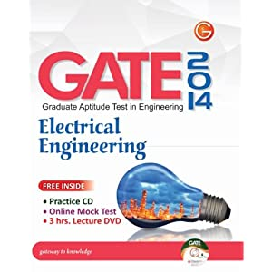 GATE - Graduate Aptitude Test in  Engineering: Electrical Engineering 2014 (with CD, DVD) : Electrical Engineering (With CD)