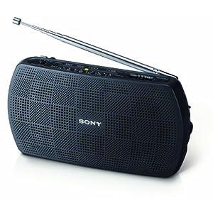 Sony SRF-18 AM/FM Stereo Speaker-Black