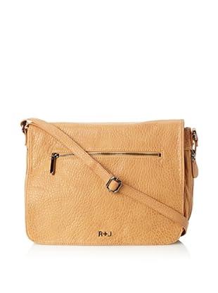 R+J Handbags Women's Dylan Messenger (Goldenrod)