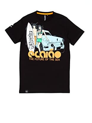 El Niño Camiseta Manga Corta The Future (negro)