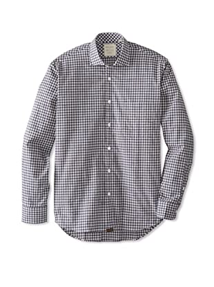Billy Reid Men's John T Woven Shirt (Blue/Grey)