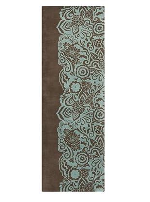 Chandra Aschera Rug, Brown/Blue, 2' 6