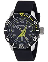 Nautica Sports Analog Black Dial Men's Watch - NAI08513G