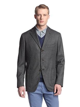 Malo Men's Birdseye Jacket (Grey)