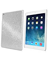 BoxWave Apple iPad Air Glamour & Glitz Case - Premium Stylish Glitter Sequin Hard Back Case for the Apple iPad Air (Silver Sparkles)