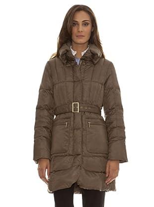 Trussardi Abrigo Basic Trussardi (marrón)