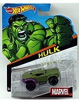 Hot Wheels 1:64 Marvel Series No 5/12 - Hulk, Multi Color